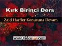 Osmanlıca Dersleri 41