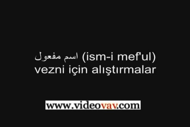 Osmanlıca Dersleri 62
