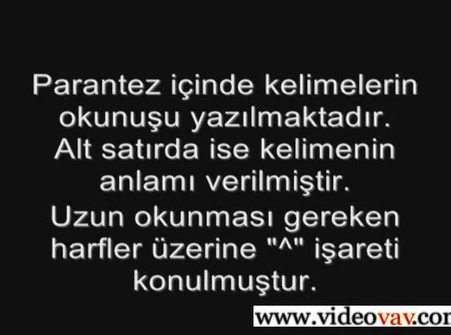 Osmanlıca Dersleri 63