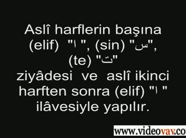 Osmanlıca Dersleri 70